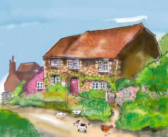 Pulborough village